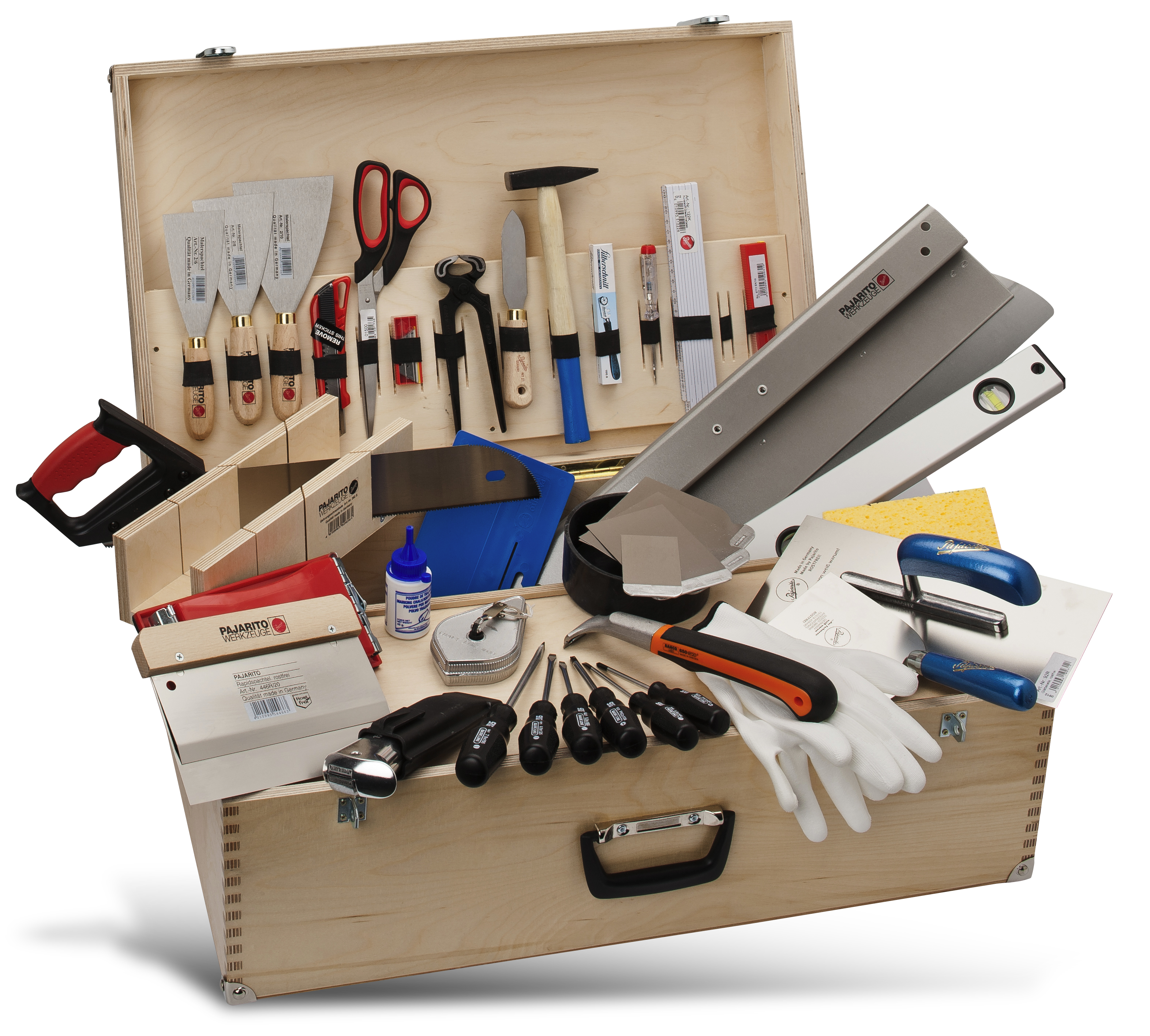 Tool box for painters and decorators Pajarito
