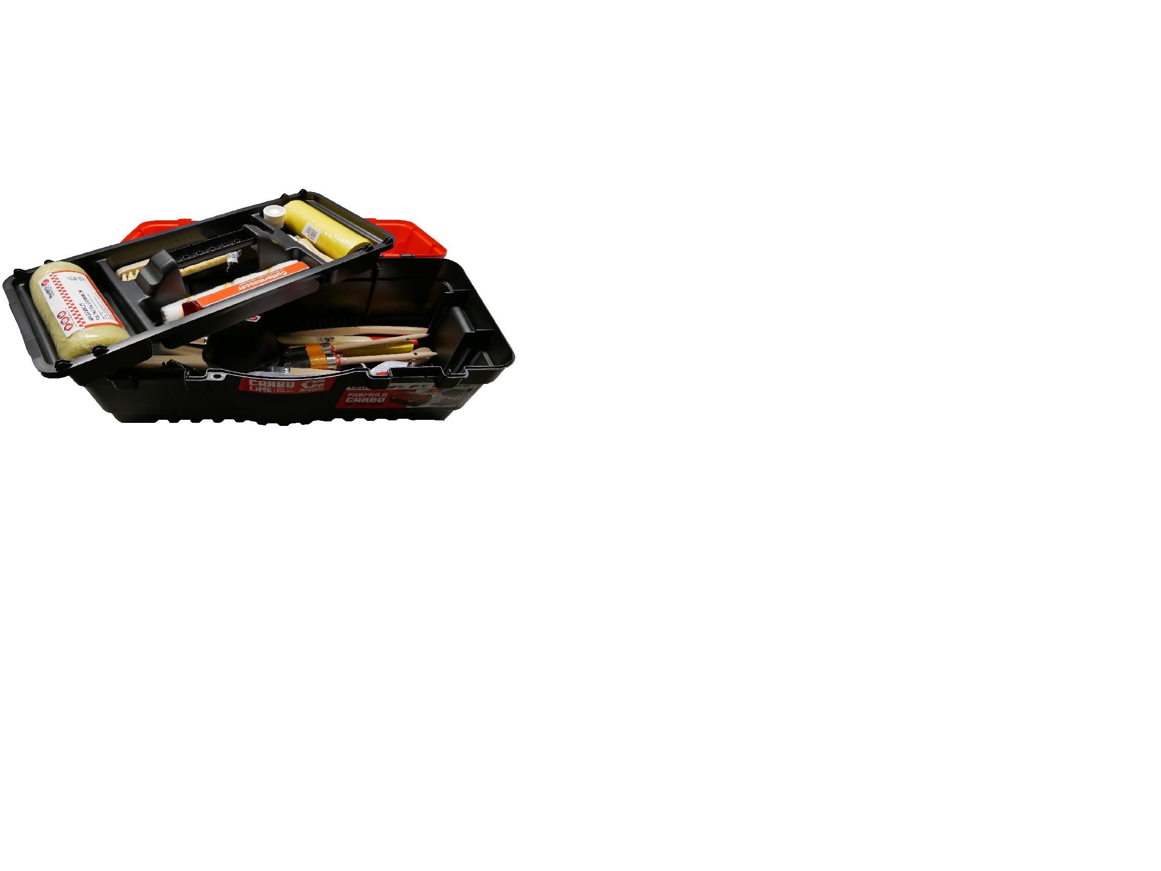 Azubiset in Kunststoff-Werkzeugkasten Pajarito