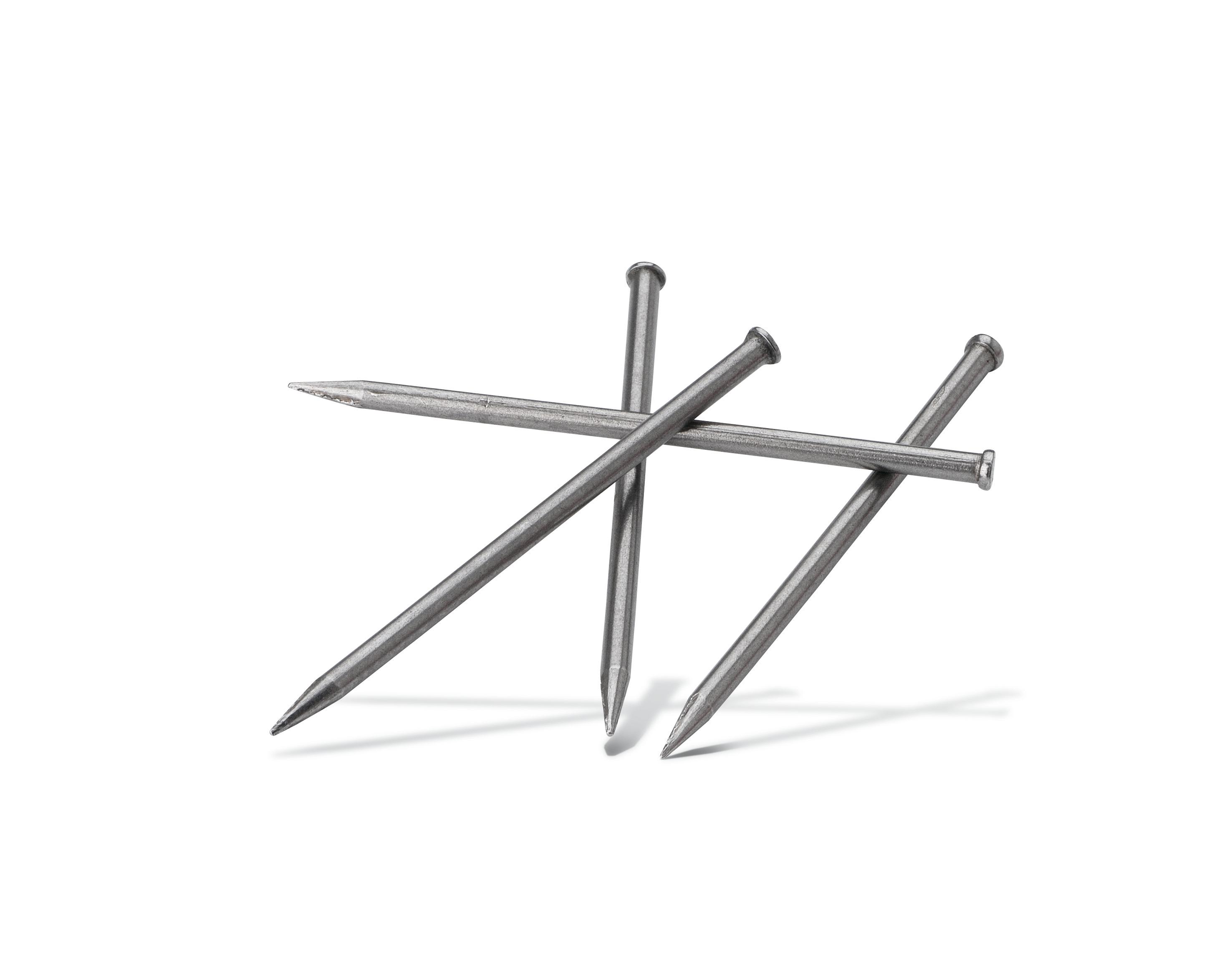 Steel nails Pajarito